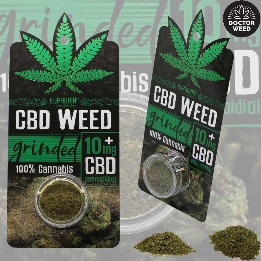 56e5704ea67f CBD Weed Grinded Ανθοί Κάνναβης 10 Mg – Euphoria - DrWeed